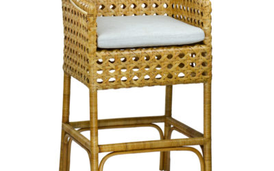 Basket Bar Stool