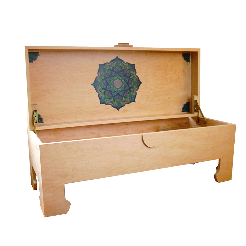 SL Yoga Trunk Maple w/ Mandala