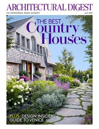architectural digest july 2015 cover