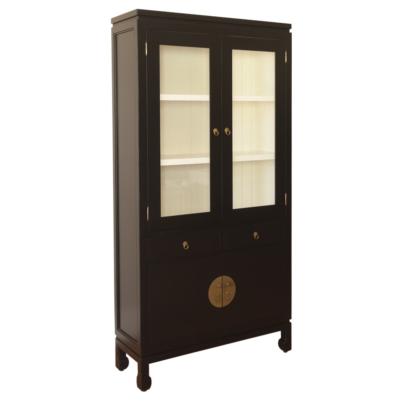 DH Bookcase with Glassdoors