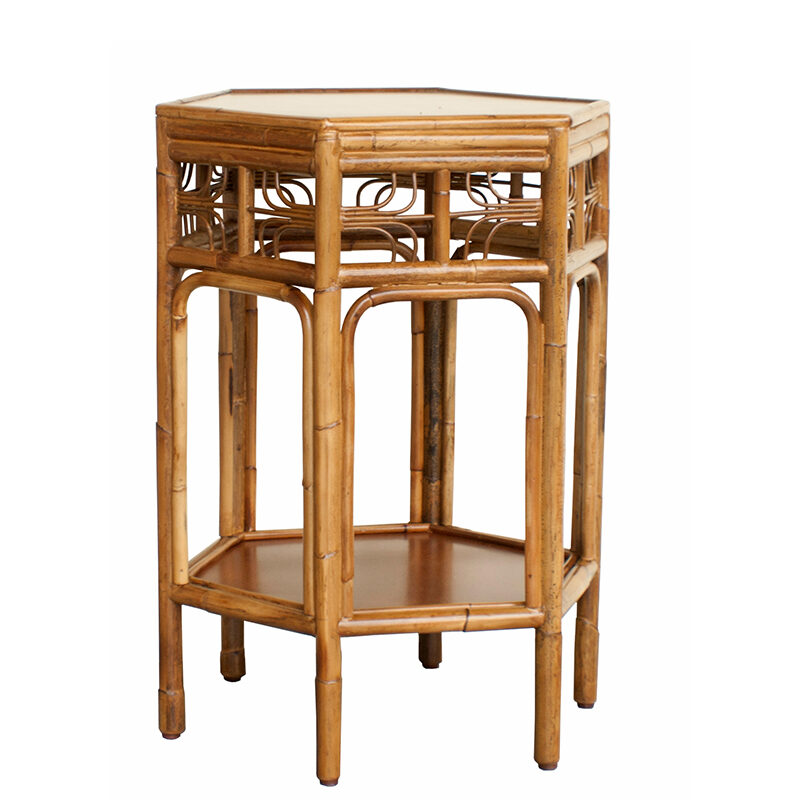 Indochine End Table Red Egg Furniture