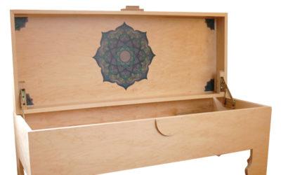 SL Yoga Trunk Maple w/ Mandala